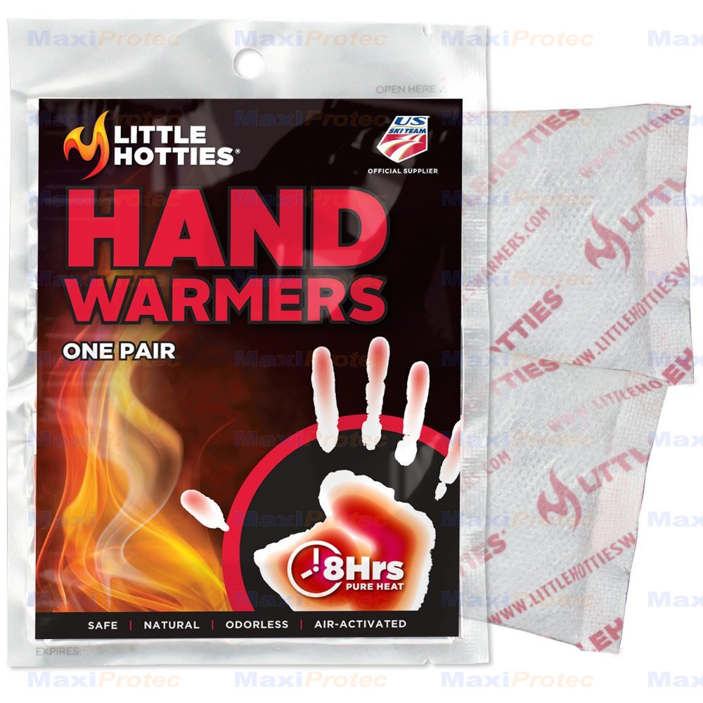 Sachets chauffants pour les mains