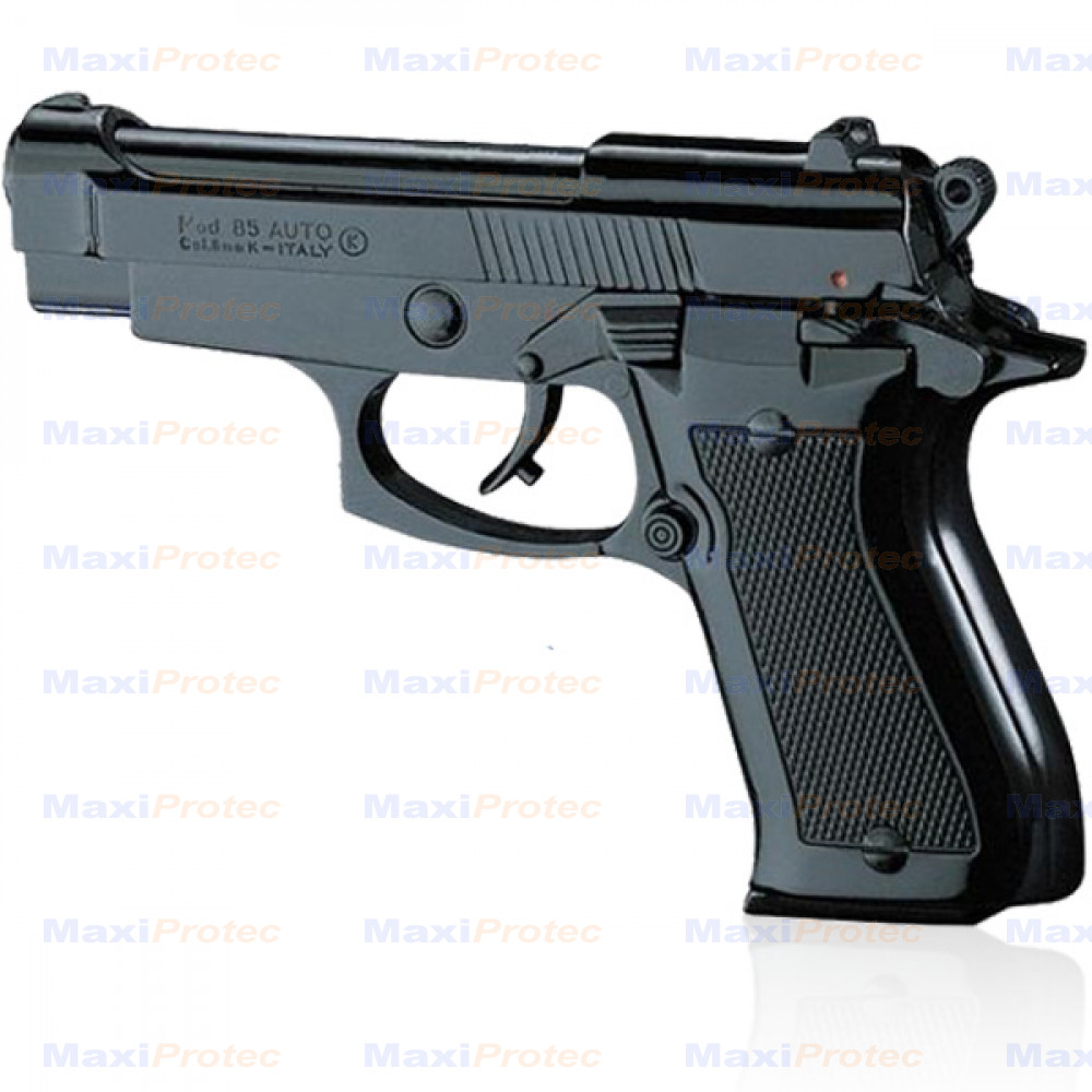 pistolet type beretta 85 noir cal 9mm. Black Bedroom Furniture Sets. Home Design Ideas