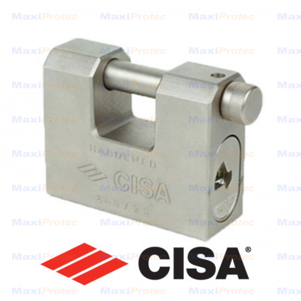 Cadenas Cisa haute sécurité horizontal 75mm