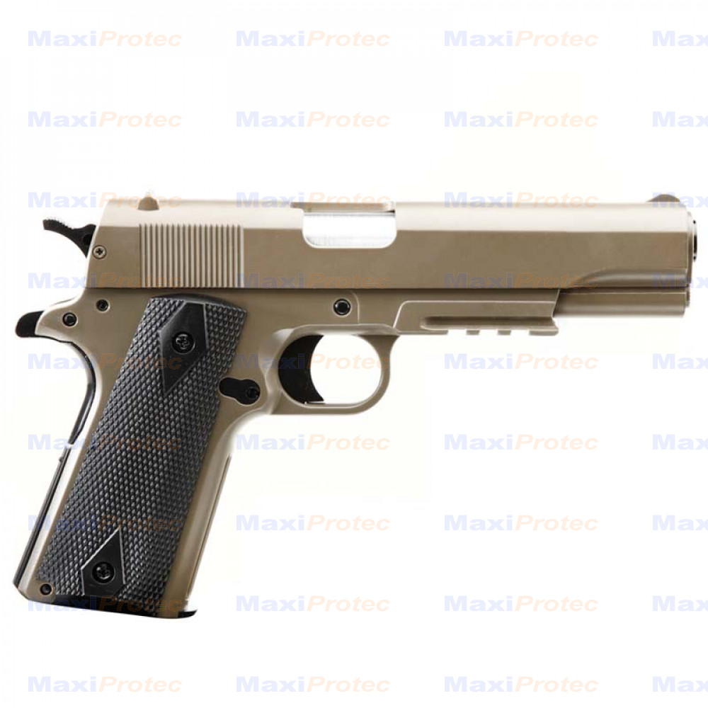 Colt M1911 A1 TAN Cybergun SPRING 0,7j cal. 6mm