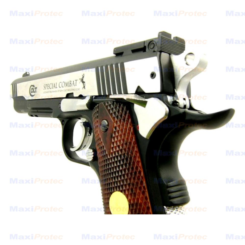 Kit colt special combat umarex calibre 4 5 promotions pistolet plomb tir de loisir - Pistolet a plomb pas cher ...
