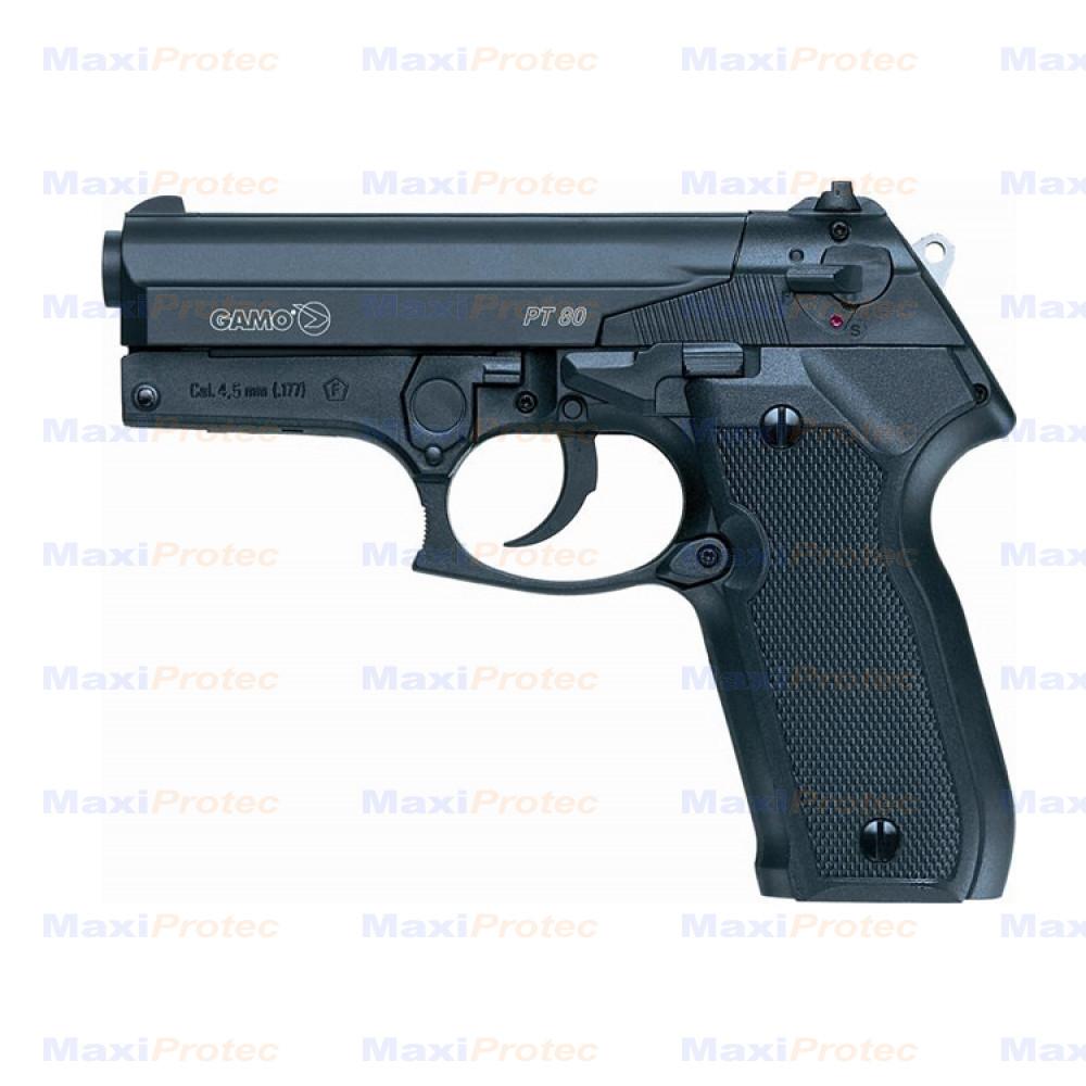 pistolet gamo pt 80 pistolet 4 5. Black Bedroom Furniture Sets. Home Design Ideas