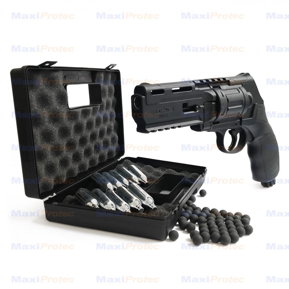 Revolver CO2 Walther T4E HDR 50 calibre 50 - 11 joules