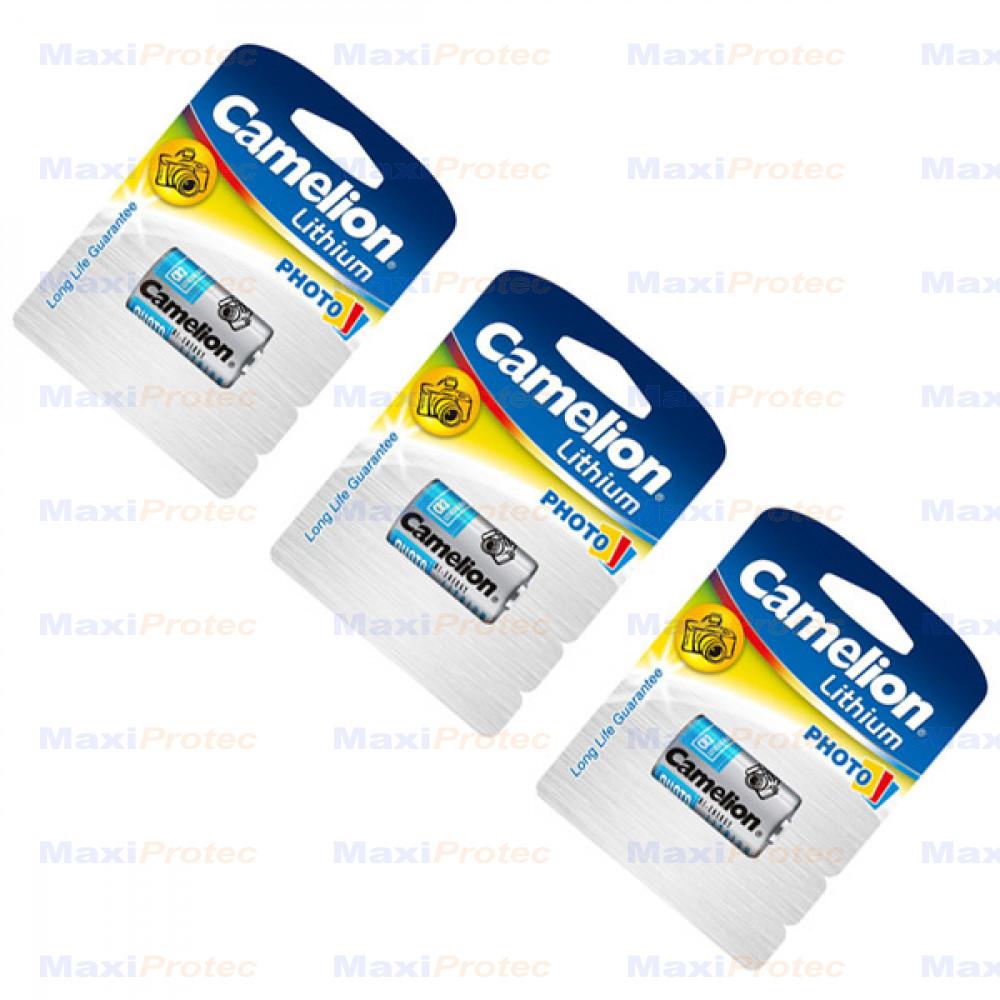 3 Piles CR2 Lithium