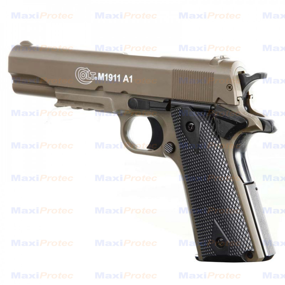 Colt M1911 A1 TAN Cybergun