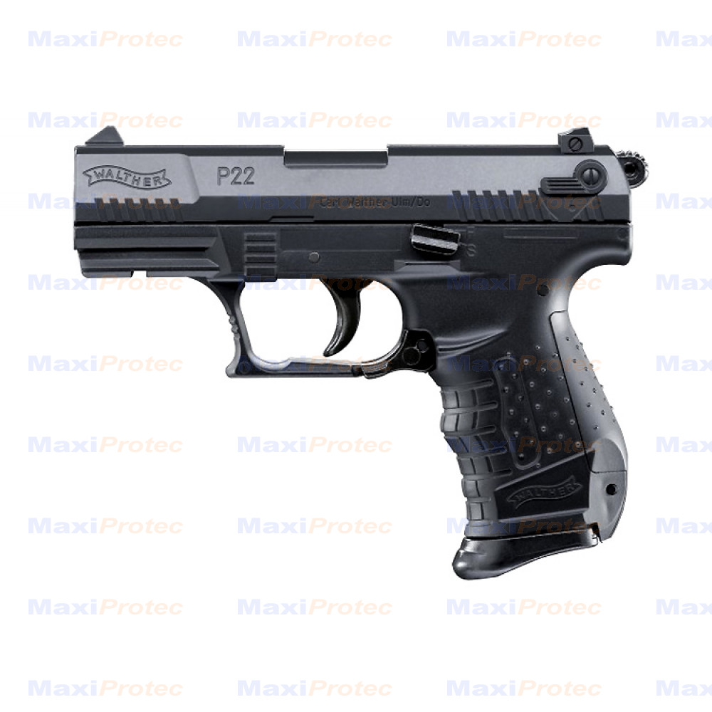 b9de428645b8af Pack Walther P22 noir Umarex cal. 6mm