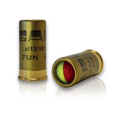 4 CARTOUCHES FUN PIZZ AU POIVRE Cal. 12/50 mm