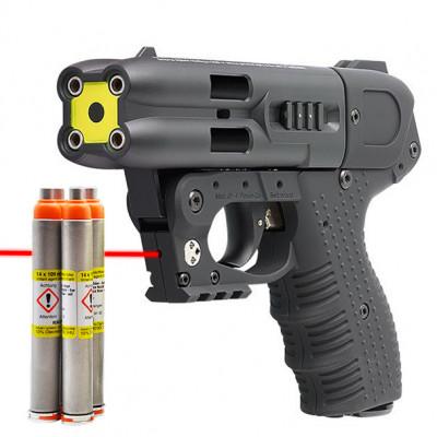 Pistolet JPX4 laser Jet defender PIEXON  + holster en Kydex + 4 cartouches