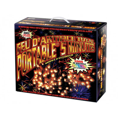 Feu d'artifice Kit Pro 5 min