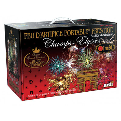 Feu d'artifice MUSICAL - Kit professionnel 1min30