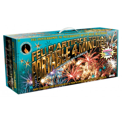 Feu d'artifice Kit pro 4min