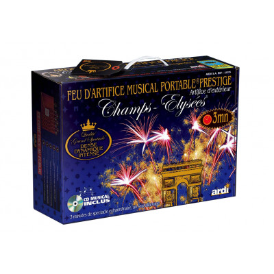Feux d'artifice MUSICAL - Kit professionnel 3 min