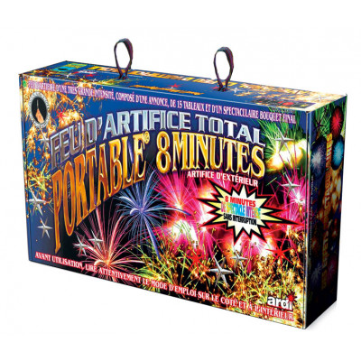 Kit feux d'artifice Professionnel 8min