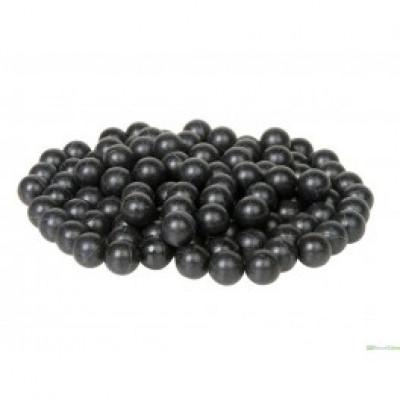 100 balles noires caoutchouc FASTBALLS cal. 43