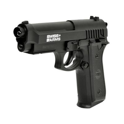 Pistolet Swiss Arms Beretta SA P92 full Metal 4.5mm BBS - 2,11 joules