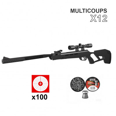 Carabine Crosman Mag-Fire Mission cal. 4.5 mm 19,9 joules - 12 coups