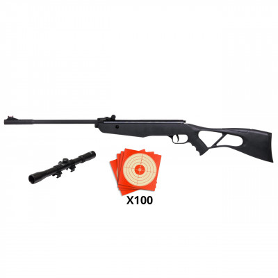 Pack carabine Crosman Inferno 10 joules cal 4.5mm