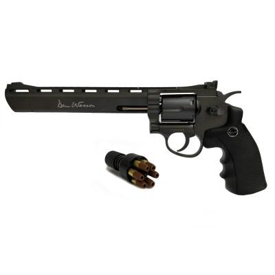 "Revolver Dan Wesson Noir 8"" cal. 4.5 mm"
