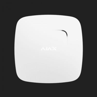 Détecteur de fumée et de chaleur Ajax - FireProtect - Blanc
