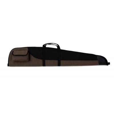 Fourreau pour carabine marron et noir avec embout renforcé 132cm
