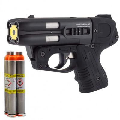 Pistolet JPX4 Jet defender PIEXON + 4 cartouches