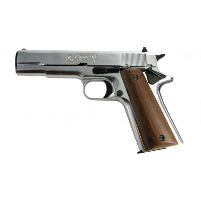 "Pistolet Type ""Colt 1911"" chromé cal. 9 mm"
