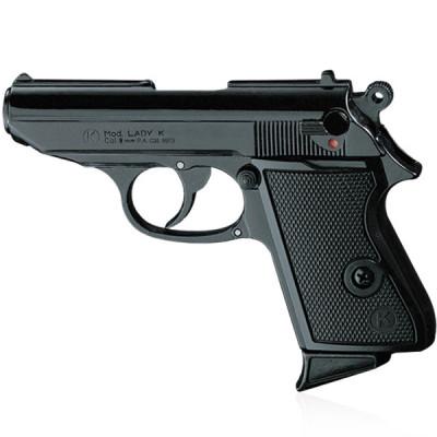 "Pistolet Type ""Lady K"" Noir cal. 9mm"