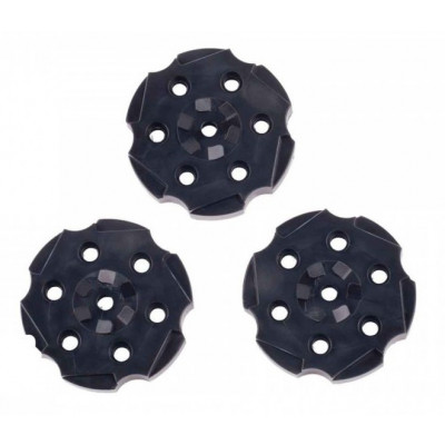 Lot de 3 Barillets Vigilante Crosman BBS cal. 4.5 mm