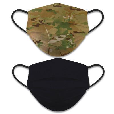Masque lavable réversible camouflage - ALBAINOX