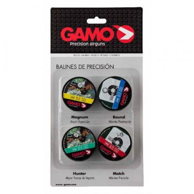 Pack munitions GAMO - 4 boîtes de plombs 4,5mm