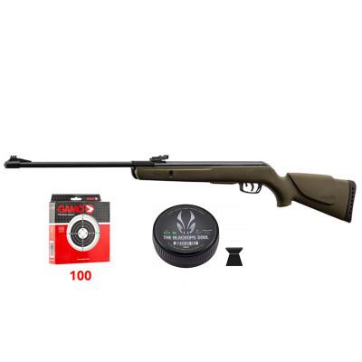 Pack carabine GAMO Delta Kaki 4.5mm