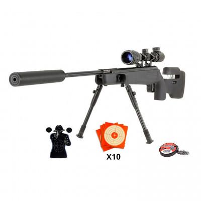 Pack Carabine à plombs Artemis SR1250 4.5mm - 19,9 joules