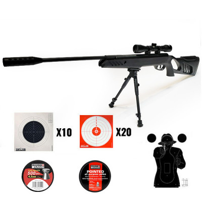 Pack carabine swissarms SA1200 TACTICAL 19.9j cal. 4.5