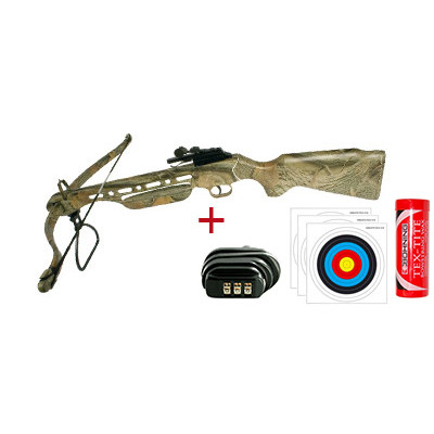 Pack arbalète SHOOT AGAIN A11 CF118 Camo 150 livres