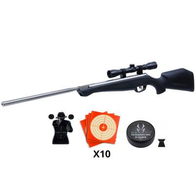 Pack carabine Crosman Silverfox cal 4.5 mm