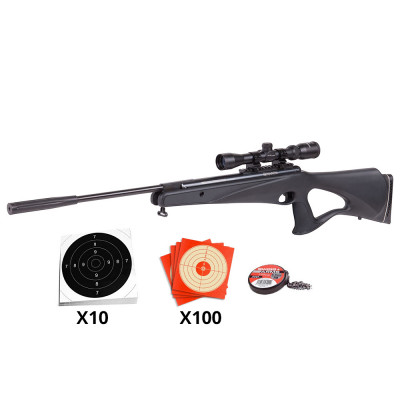 Pack Carabine à plombs Crosman Benjamin Titan NP 4.5 mm