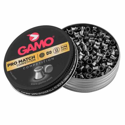 500 Plombs Gamo Pro Match Compétition cal. 4,5mm