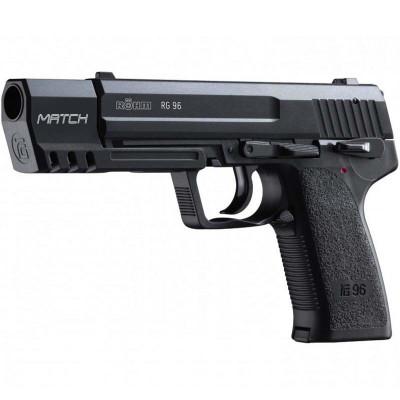 Pistolet d'Alarme à Blanc ROHM RG 96 MATCH Black Cal. 9mm PAK