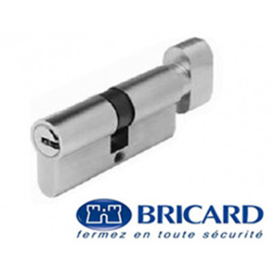 Cylindre Bricard Serial XP à bouton