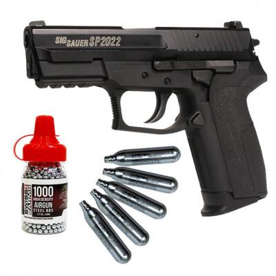 Pack SIG SAUER SP2022 c02 4.5 mm BBS