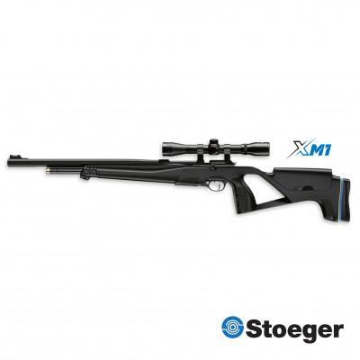 Carabine à plombs PCP Stoeger X-M1 combo 4x32 cal 4,5 mm 19.9 j