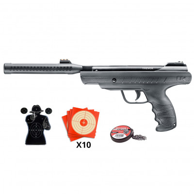 Pack Pistolet UX Trevox Umarex cal 4.5mm gas piston 7,5joules