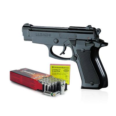 """Kit Défense """"Beretta 85"""" Noir cal. 9mm"""