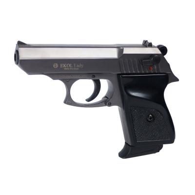 """Pistolet EKOL type """"Lady"""" fumé cal. 9mm"""