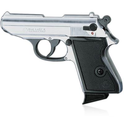 """Pistolet Type """"Lady K"""" chromé cal. 9mm"""
