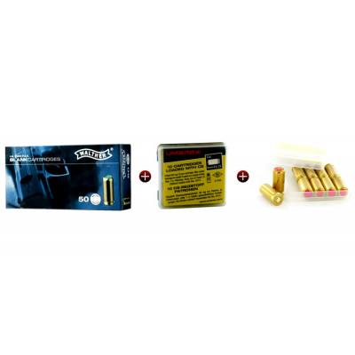 Kit munitions de défense 9mm