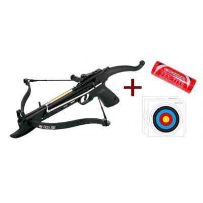 Pack Pistolet Arbalète Cobra A16 80 livres