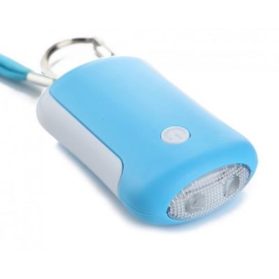 Alarme de defense de sac à main + LEDs
