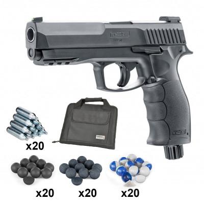 Pack PRO Pistolet Umarex T4E HDP 50 11 joules Cal. 50 + Housse