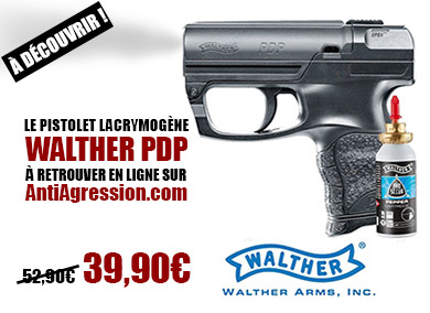 Pistolet Lacrymogène Walther PDP